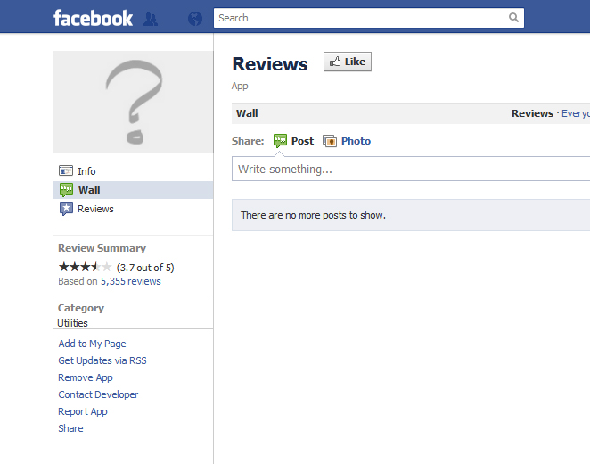 How to Add the Facebook Reviews Application to your Facebook Page