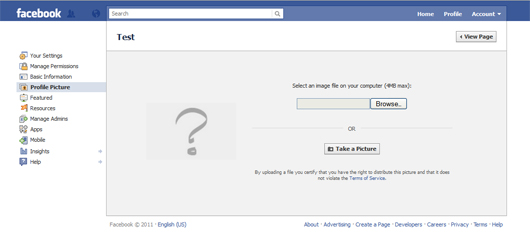 How to Change your Facebook Page Profile Picture