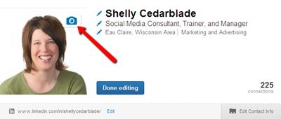 How to edit LinkedIn Profile Photo