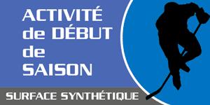 Entrainements sur glace synthétique chez AC Sports-Élites à St-Jérôme