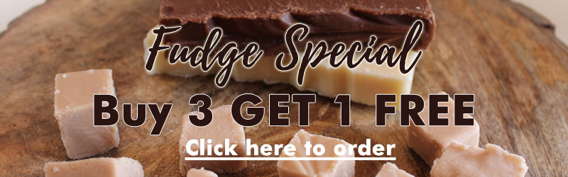 Maple Leaf Fudge - Buy 3 pieces and get 1 Free