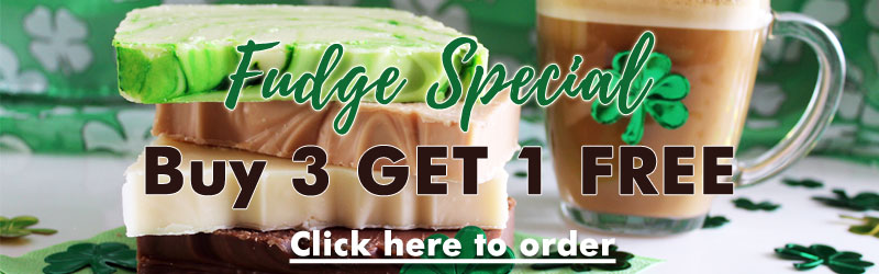 St Patrick's Day Fudge Special