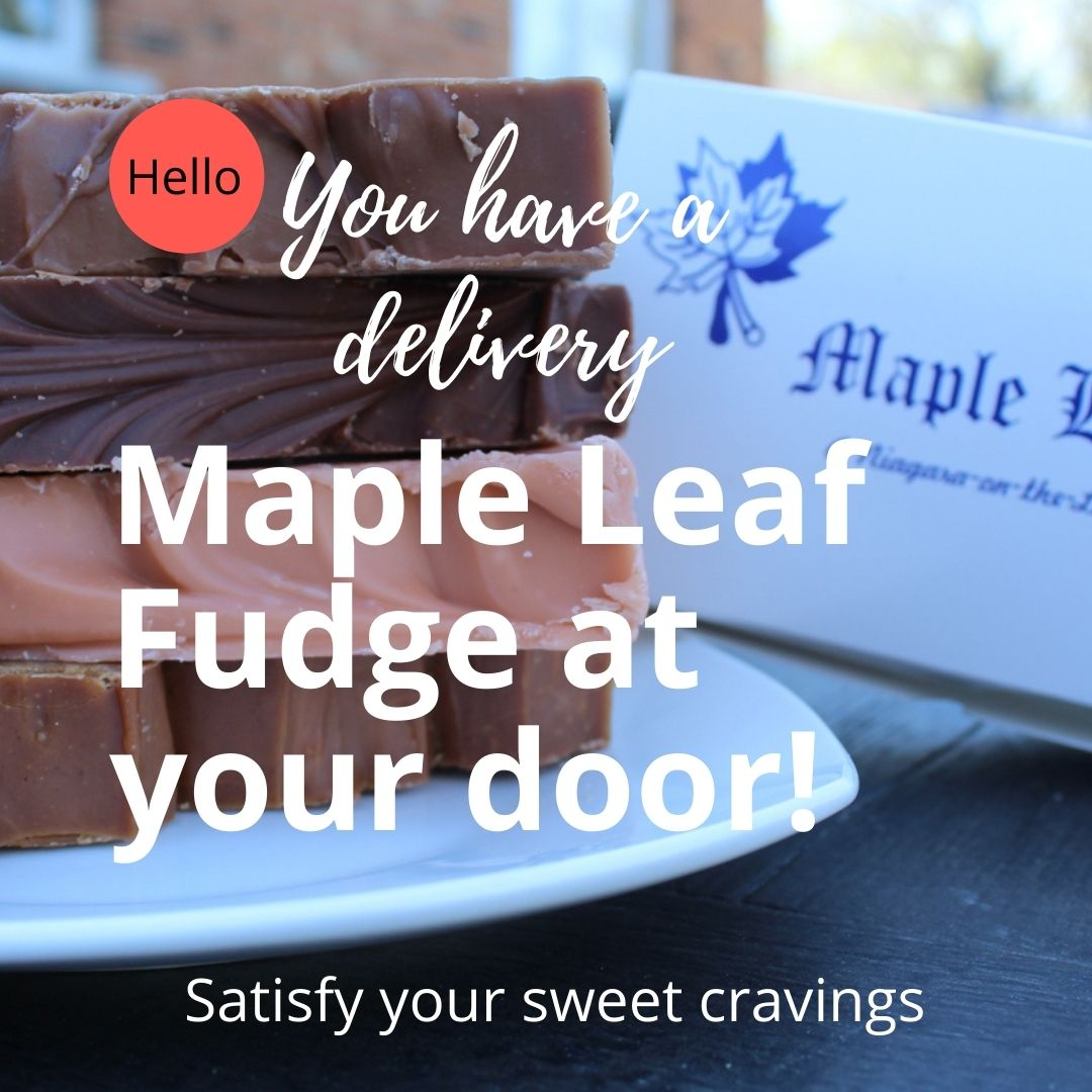 Maple Leaf Fudge Delivery
