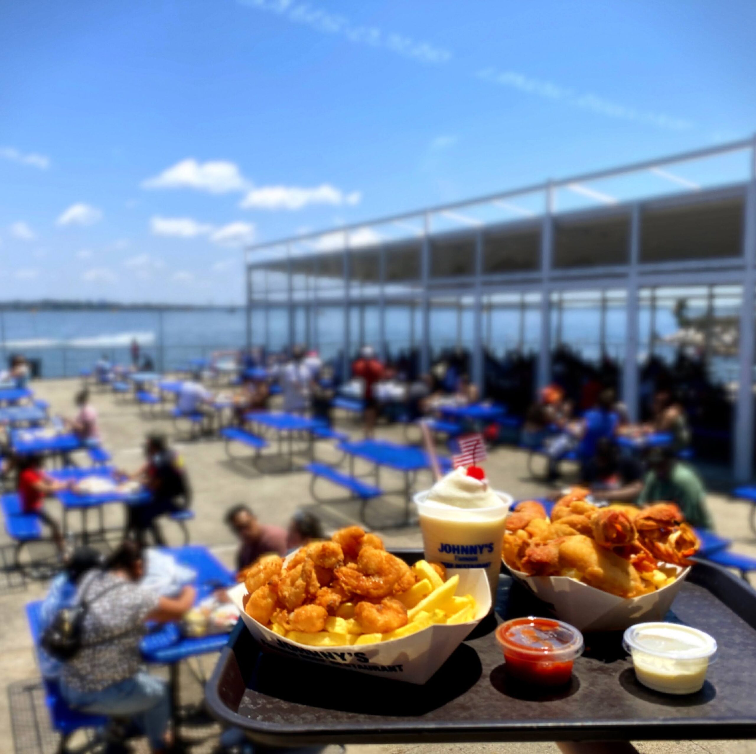 Johnny's Reef Re-Opens And All Is Well Again In The Beautiful Bronx