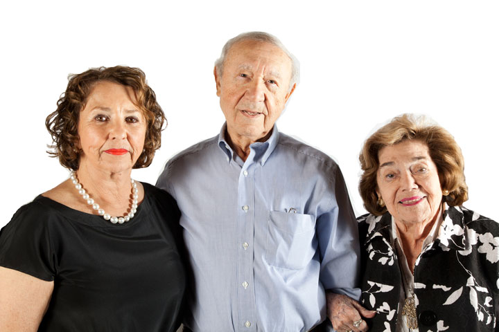From left to right: Judy Mack, Henry Kronberg, Edythe Katz Yarchever