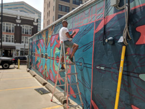 Freudian Slip, Murals & More, The Cedar Rapids Mural Trail