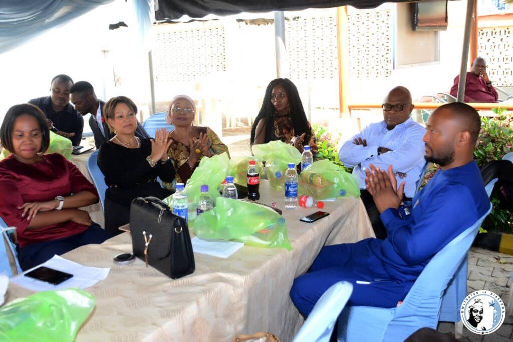 Business Delegates from Botswana.