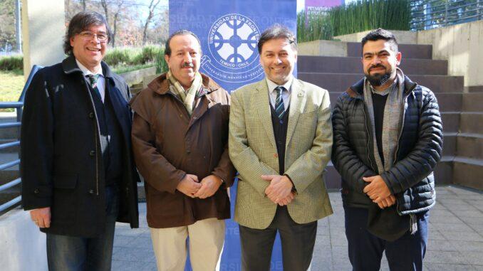 Ramón Fuentes, Rodolfo Pihán, Rodrigo Navia, Eduardo Cisternas