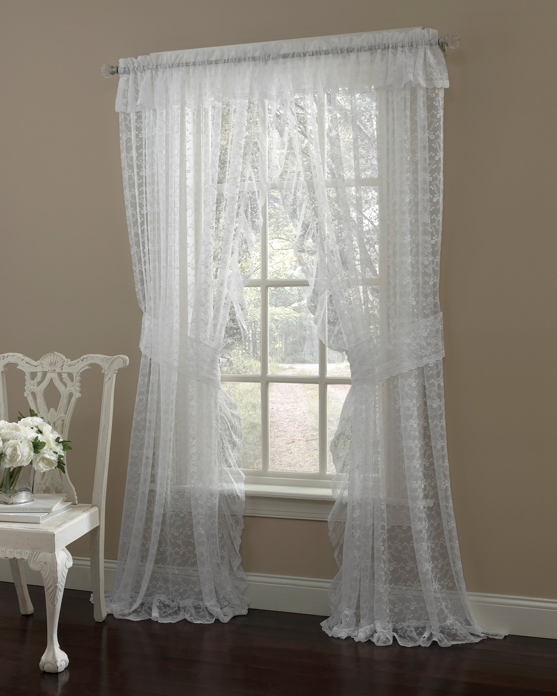 Priscilla Panel Featured with Valance