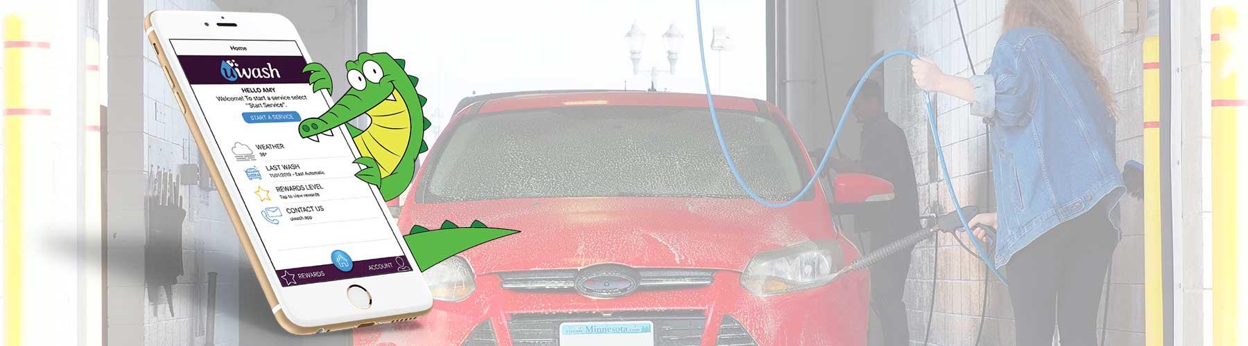 UWash Car Wash app