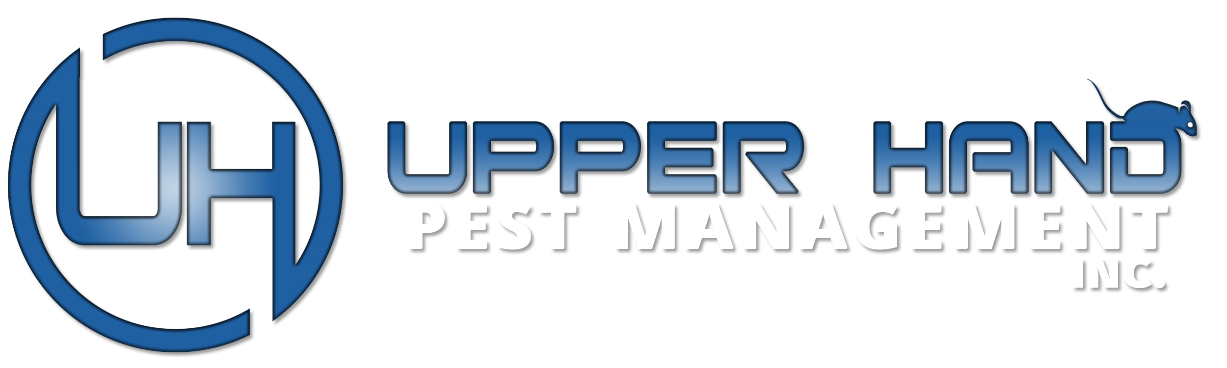 Upper Hand Pest Management WHite Color