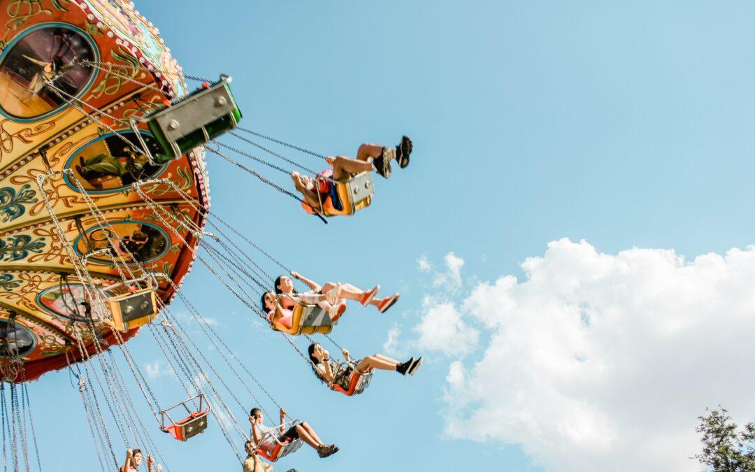 attitudes and amusement park