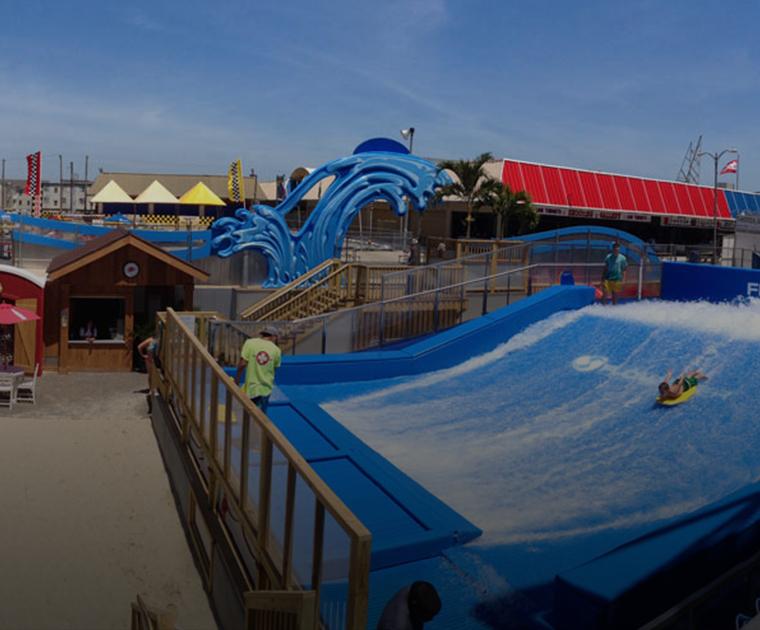 Flow House waterpark in Wildwood, NJ