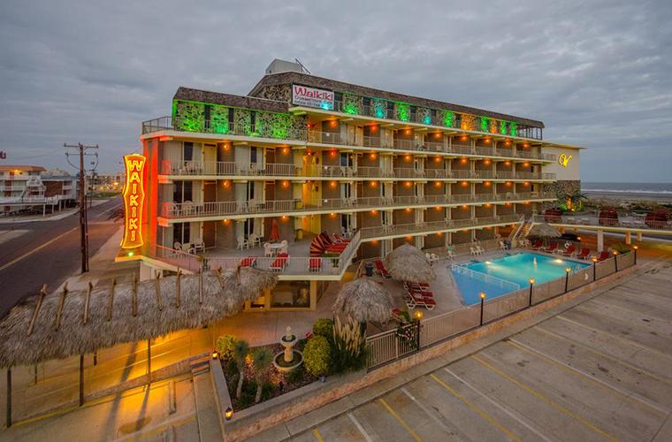 Waikiki hotel in Wildwood, NJ