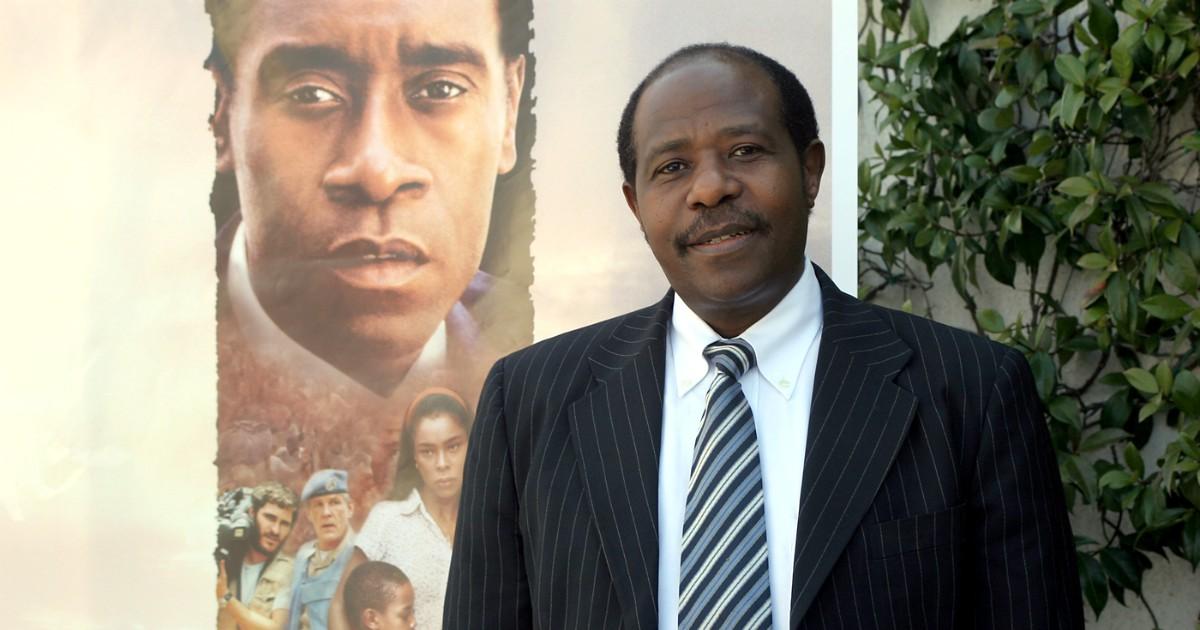 Hotel Rwanda hero, Paul Rusesabagina