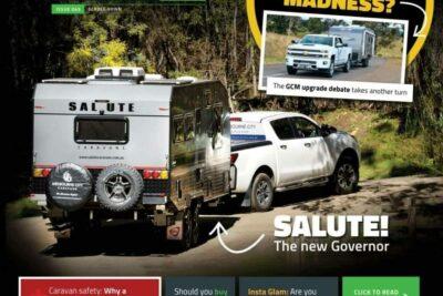 Salute Caravans Governor Review RV Daily