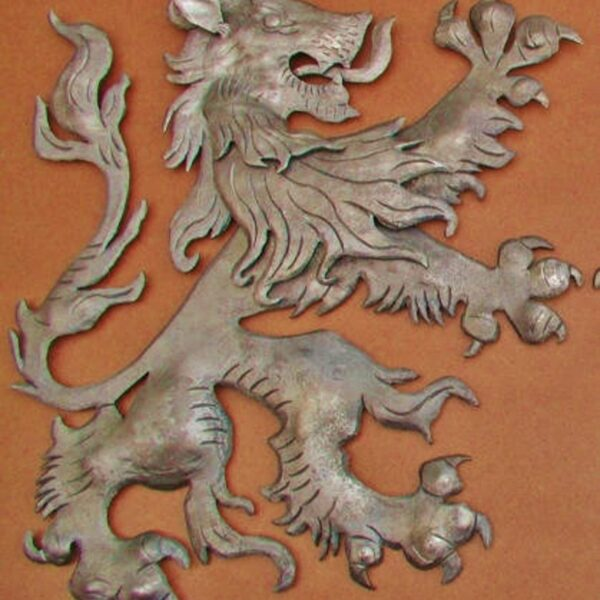 Scottish Fighting Lion, right facing