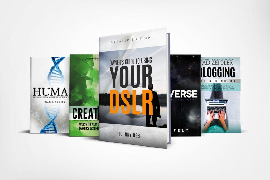 Book Series Mockup 1