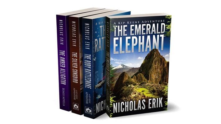Book Series Mockup 4