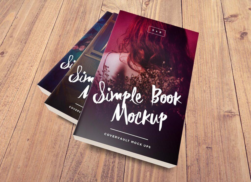 Book Series Mockup 5