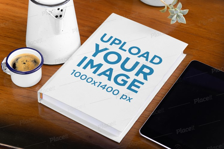 Coffee Table Book and iPad Mockup