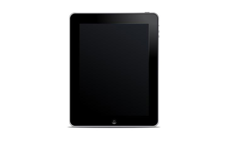 Black iPad Clipart