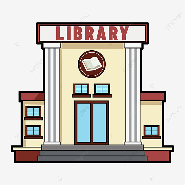 Children's Library Clipart