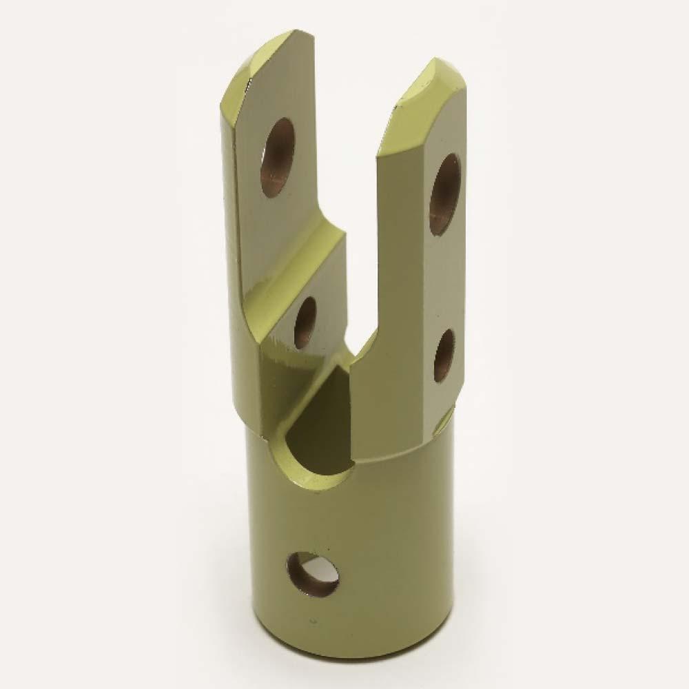 Custom CNC milled bracket mount