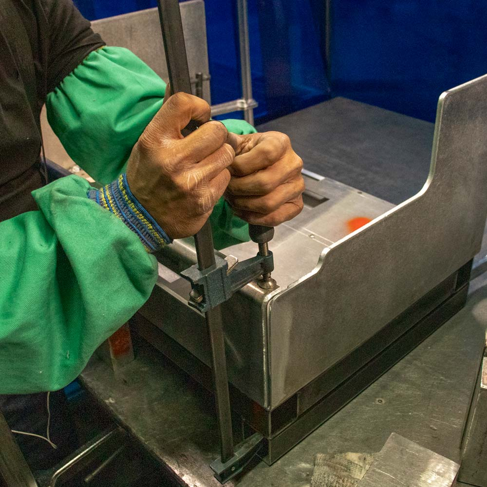 Our welders are AWS certified and specialize in TIG and MIG welding