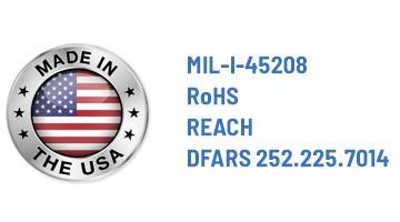 California based metal fabrication - certifications