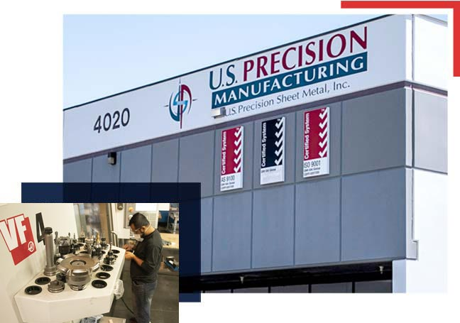 CNC milling and machining is performed on-site at our southern California facility