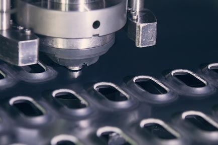 high quality custom cnc punched and stamped metals