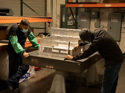 Welding team - quality control
