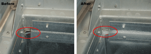 Before and After Residential Air Duct Sealing Services in Colorado