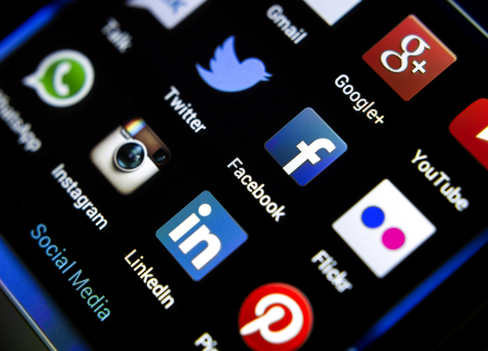 Be strategic and selective with social media