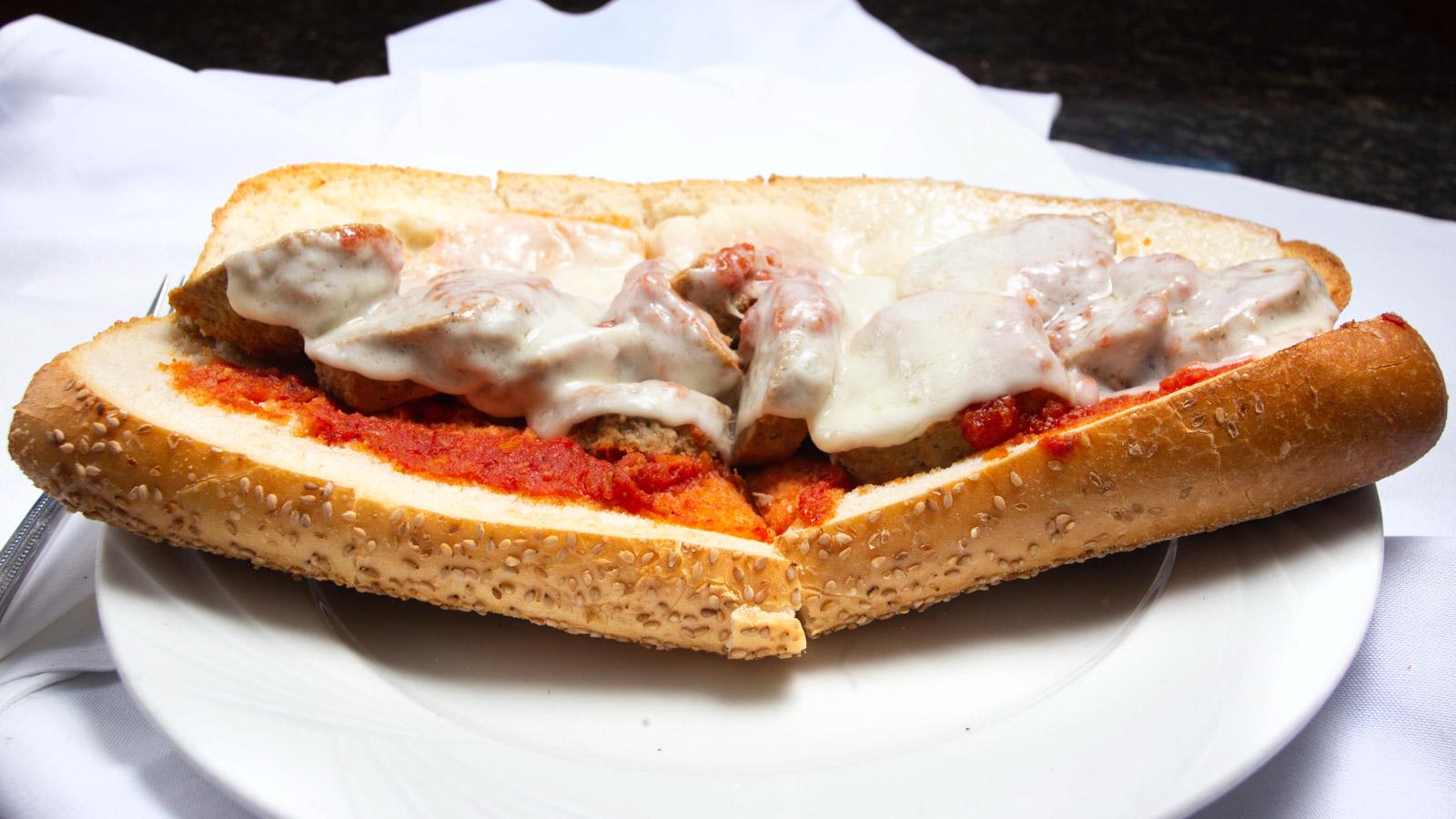 Meatball Parmigiano