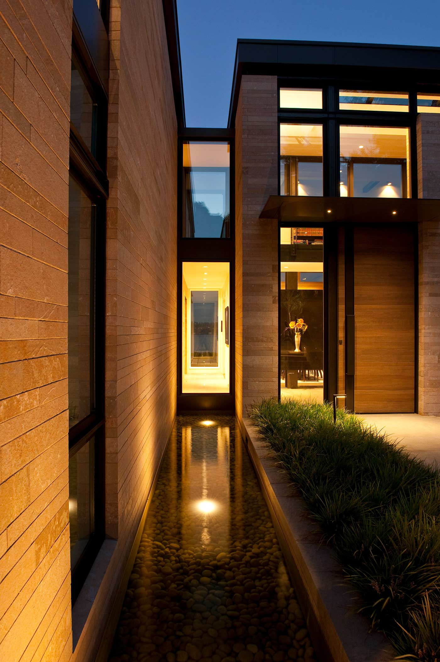 Washington Park Hilltop Residence - Exterior Entry