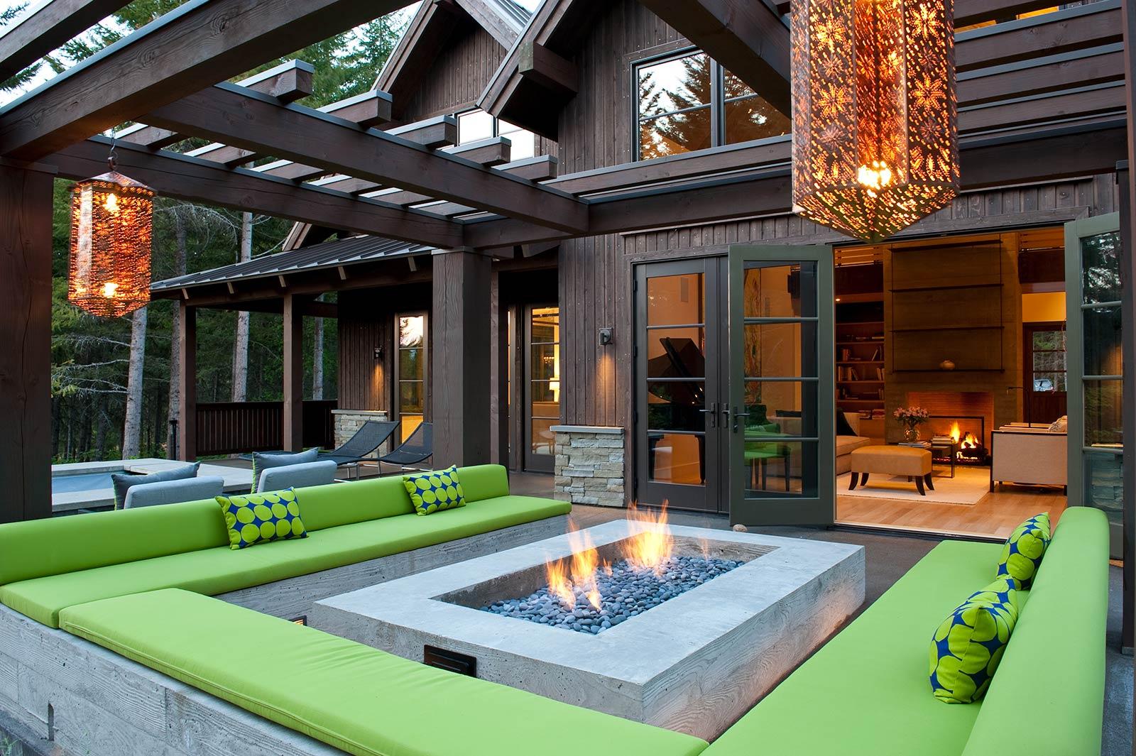 Tumble Creek Residence - Patio & Firepit