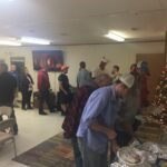 Christmas party is underway middle Tennessee