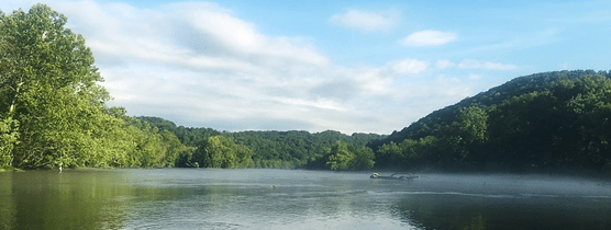 Enjoying the river as you reflect on recovery from addiction in Nashville