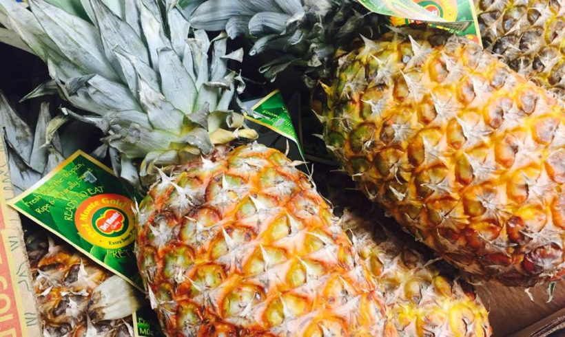 Sizzling Pineapples