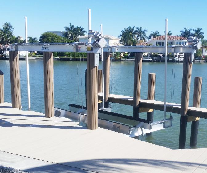 Salty Hoist Boat Lifts