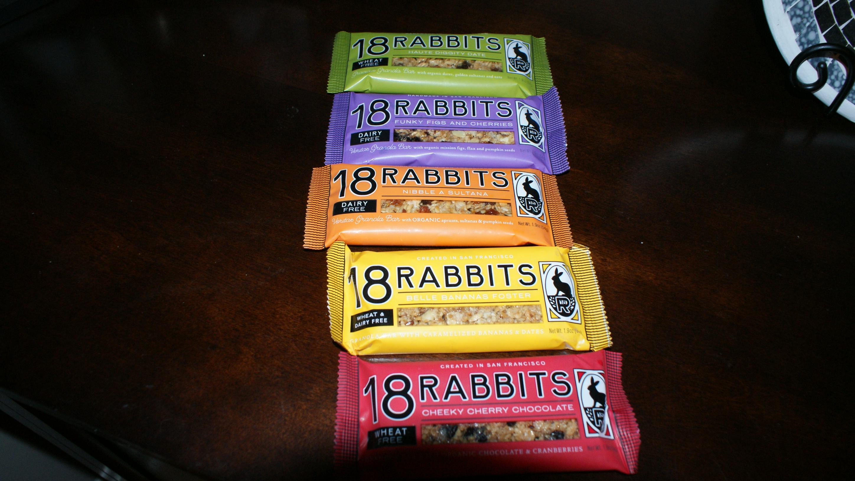 18 Rabbits Granola Bars Review