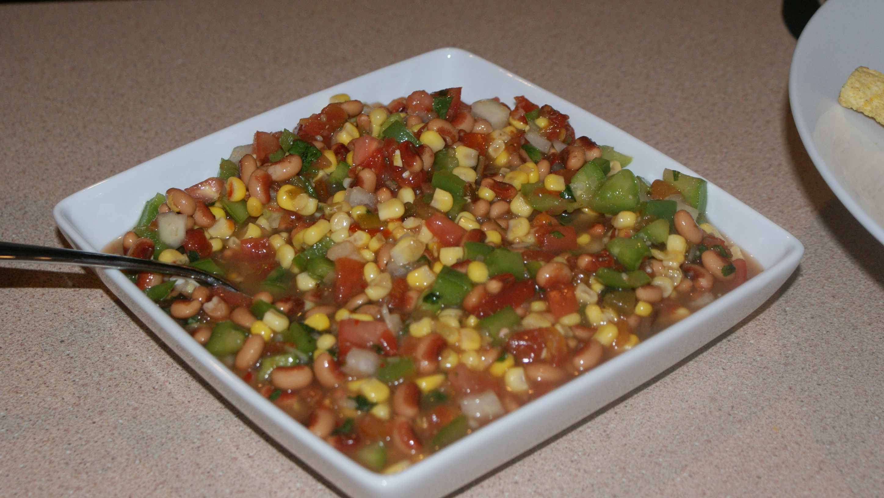 Homemade Bean Salsa
