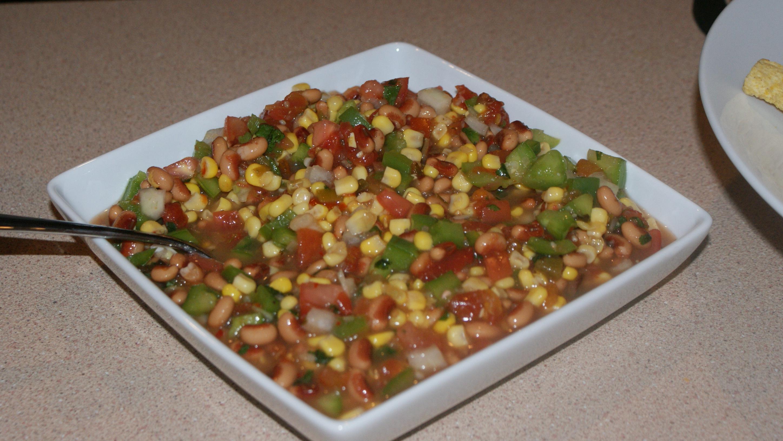 Homemade Bean Salsa