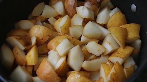 Homemade Baby food: Pears