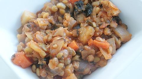 Lentil Veggie Stoup