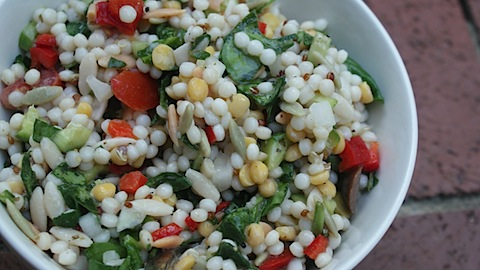 Israeli CousCous Summer Salad