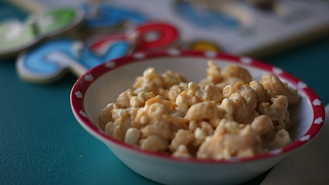 Healthy Macaroni and Cheese for Kids