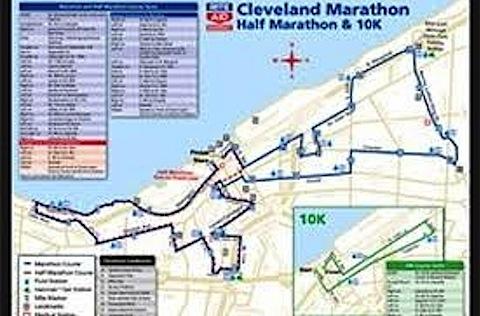 Cleveland 1/2 Marathon Tomorrow